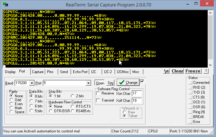 Using and programming a NEO-6 GPS receiver module – Page 2 – ReiLabs
