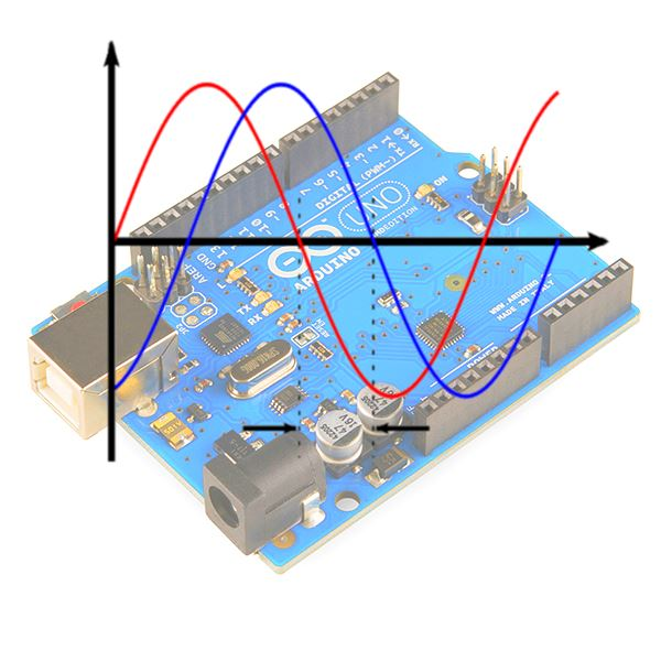 Arduino generating two fast phase offset signals